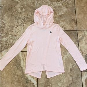 Abercrombie Kids Baby Pink Sweater Size 7/8!